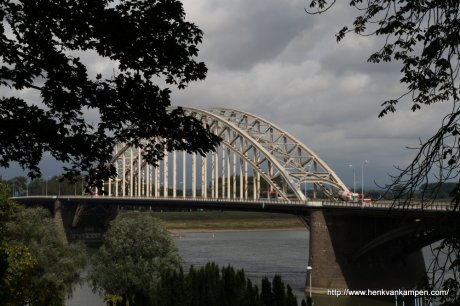 Bridge over the river Waal at Nijmegen