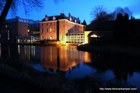 Château Holtmühle, Tegelen, by night